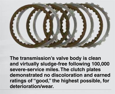 Clean clutch plates- AMSOIL ATF