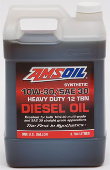 AMSOIL Synthetic 10W-30/SAE 30 Diesel Oil