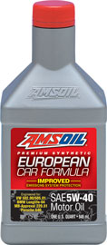 AMSOIL European Formula 5W-40 Improved ESP Synthetic Motor Oil
