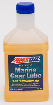 AMSOIL Universal Synthetic 75/80W-90 Marine Gear Lube