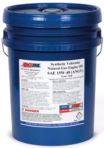 AMSOIL Synthetic Vehicular Natural Gas 15W-40 Engine Oil
