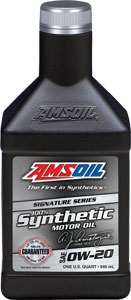 AMSOIL Signature Series 0W-20 Synthetic Engine Oil