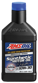 AMSOIL Signature Series 100% Synthetic 10W-30 Motor Oil
