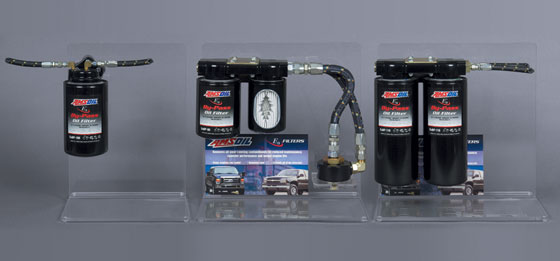 AMSOIL By-pass Oil Filter Systems