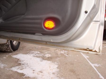 Car Door Rust