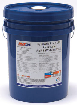 AMSOIL Long Life Synthetic 80W-140 Gear Lube