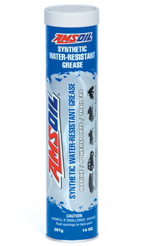 AMSOIL Synthetic Water Resistant Grease - New Formula