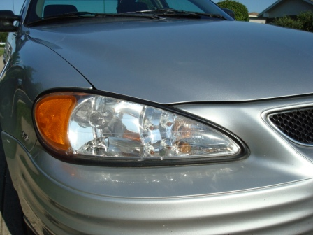 Headlight Polishing- After