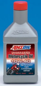 AMSOIL Synthetic 10W-40 Motorcycle Oil