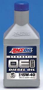 AMSOIL OE 15W-40 Synthetic Diesel Oil