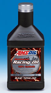AMSOIL Dominator Synthetic 10W-30 Racing Oil