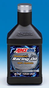 AMSOIL Dominator Synthetic 15W-50 Racing Oil