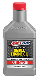 AMSOIL Synthetic 10W-30 Small Engine Oil