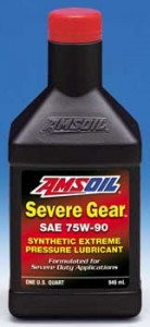 AMSOIL SEVERE GEAR® 75W-90 Synthetic Extreme Pressure Lubricant