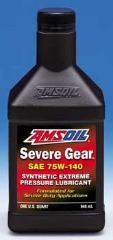 AMSOIL SEVERE GEAR® Synthetic 75W-140 Extreme Pressure Lubricant