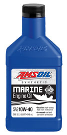 AMSOIL Marine 4-Stroke Synthetic 10W-40 Engine Oil