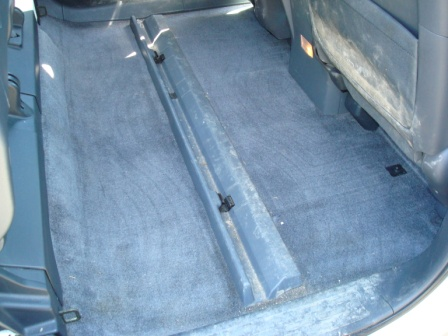 Back Seat Area Honda Ridgeline Without Mats