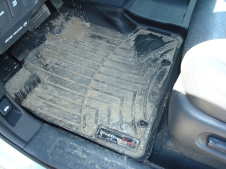 Weathertech FloorLiner DigitalFit Winter Grime