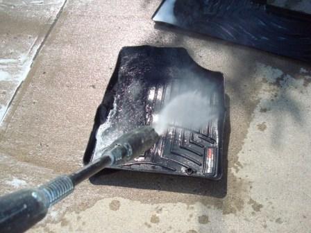 Rinsing Weathertech FloorLiner