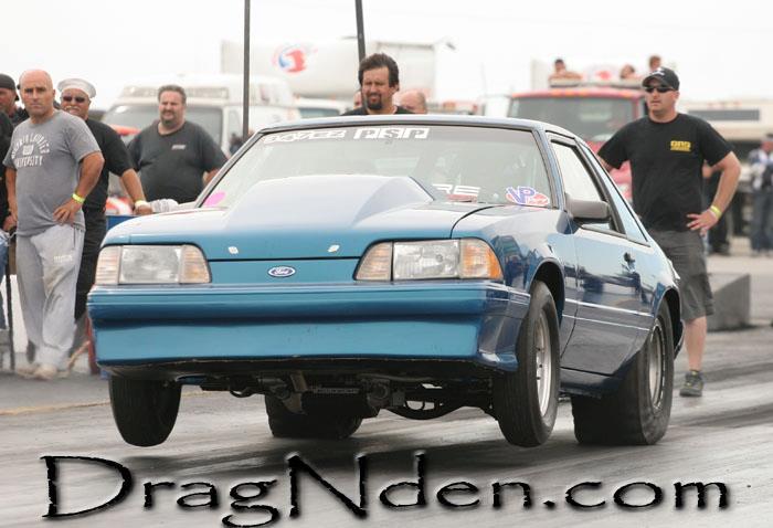 Steve's Mustang Drag Racer