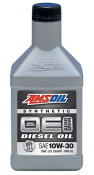 AMSOIL OE10W-30 Synthetic Diesel Engine Oil
