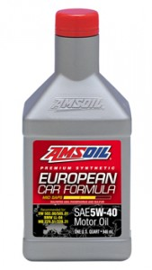 AMSOIL European Formula Mid-SAPS Synthetic 5W-40 Motor Oil