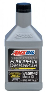 "AMSOIL European ""Full SAPS"" Formula 5W-40 Synthetic Motor Oil"
