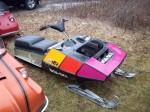 Boa-Ski Racing Snowmobile