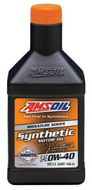 AMSOIL 0W-40 Signature Series Synthetic Oil