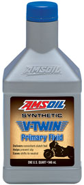 AMSOIL V-Twin Synthetic Primary Chaincase Oil