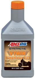 AMSOIL V-Twin Synthetic Transmission Oil