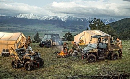 ATV Hunting Camp