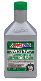AMSOIL Synthetic ATV/UTV Transmission & Differential Oil