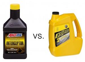 AMSOIL Interceptor Versus XPS Syn 2-Stroke Oil
