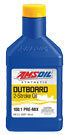 AMSOIL Saber Outboard Synthetic Pre-Mix 2-Cycle Oil