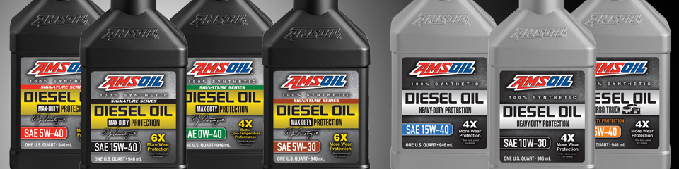 AMSOIL API-CK-4 Diesel Engine Oils