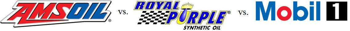 AMSOIL vs. Royal Purple vs. Mobil 1