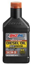 AMSOIL Signature Series 5W-30 Max-Duty Synthetic Diesel Oil