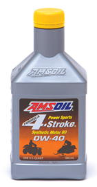 AMSOIL Formula 4-Stroke Synthetic 0W-40 Motor Oil