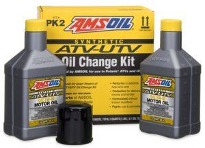 AMSOIL ATV-UTV Oil Change Kit For Polaris