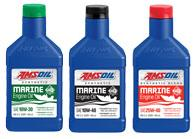 AMSOIL 4-Stroke Marine Engine Oils