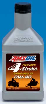 AMSOIL Formula 4-Stroke® Power Sports 0W-40 Synthetic Motor Oil