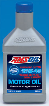 AMSOIL Synthetic Heavy Duty Diesel & Marine Motor Oil