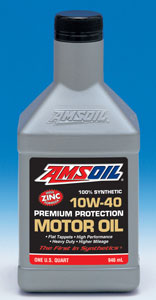 AMSOIL Synthetic 10W-40 Premium Protection Motor Oil