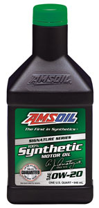 AMSOIL Signature Series 100% Synthetic 0W-20 Motor Oil