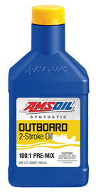 AMSOIL Outboard Synthetic 2-Stroke Pre-Mix Oil
