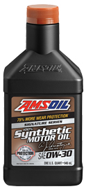 AMSOIL Signature Series 100% Synthetic 0W-30 Motor Oil