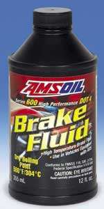 AMSOIL Series 600 DOT 4 Synthetic Racing Brake Fluid