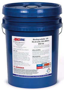 AMSOIL Biodegradable ISO 46 Hydraulic Oil