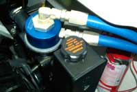 Dual Remote Oil Filter Adapter and Hoses